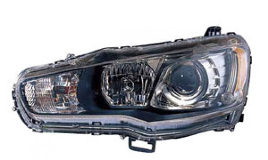 LANCER EVO'08 HEAD LAMP(XENON HOLE)