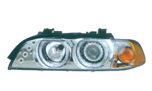 BMW E39 HEAD LAMP(WHITE CRYSTAL)YELLOW