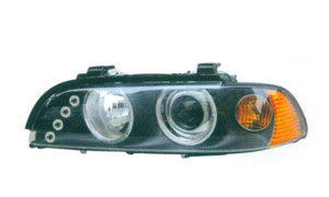 BMW E39 HEAD LAMP(BLACK CRYSTAL)YELLOW