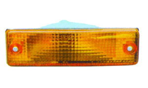 PRIDE II '88-'91 FRONT LAMP(YELLOW)