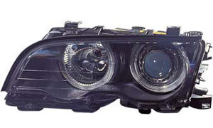 BMW E46 2D HEAD LAMP(CRYSTAL,BLACK)