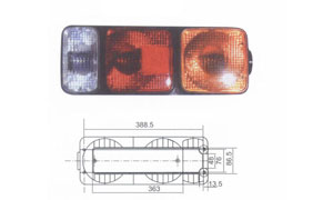 TRAILER TAIL LAMP(C) (SUIT FOR