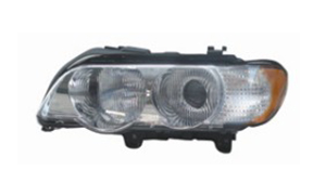 BMW E53 HEAD LAMP'99-'03 (CHROMED,YELLOW)OLD