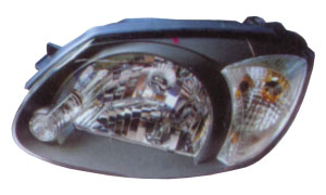ACCENT '03 HEAD LAMP(WHITE)
