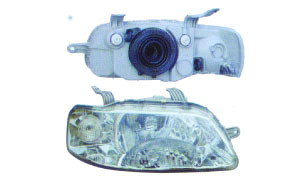 AVEO '04 HEAD LAMP(W/S TURNING