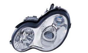 W203 '03 HEAD LAMP (CRYSTAL,WHITE)