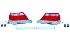 W140 '92-'94 LED CRYSTAL TAIL