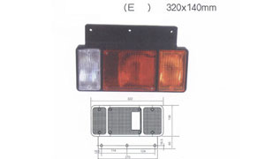 TRAILER TAIL LAMP(E)(SUIT FOR ISUZU)