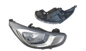 ACCENT '11 HEAD LAMP MIDDLE
