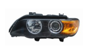 BMW E53 HEAD LAMP'99-'03 (CRYSTAL,YELLOW)OLD