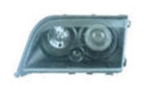 W140 HEAD LAMP(CRYSTAL,BLACK)