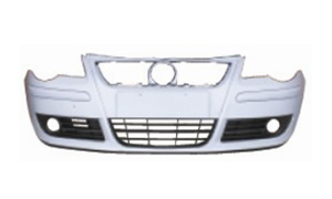 VW POLO V'05- FRONT BUMPER