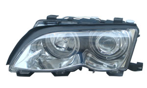 E46 '2001 HEAD LAMP(WHITE)