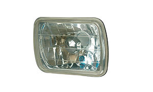 7''SQUARE HEAD LAMP(CRYSTAL)