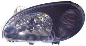 LANOS I HEAD LAMP(BLACK)