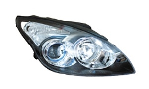 I30'09 HEAD LAMP(BLACK)