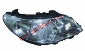 POINTER/GOL'09 HEAD LAMP TWIN BEAM GREY LENS