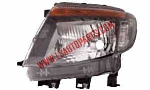 RANGER '12 HEAD LAMP ELECTRIC BLACK