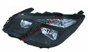 S10'11 HEAD LAMP BLACK
