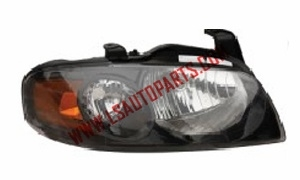 SENTRA B15'01-'06 HEAD LAMP BLACK
