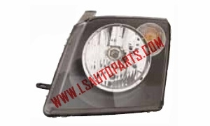 ECOSPORT'03-'07 LATIN AMERICAN TYPE HEAD LAMP BLACK