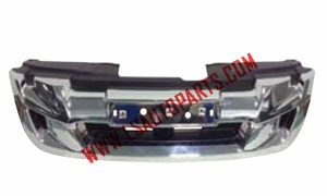 D-MAX'12 GRILLE CHROMED 4WD