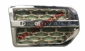 DISCOVERY 3 SIDE VENT CHROMED