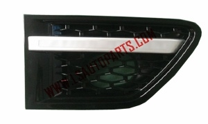 RANGE ROVER SPORT'09 SIDE VENT ALL BLACK