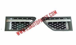 RANGE ROVER SPORT'09 SIDE VENT SILVER