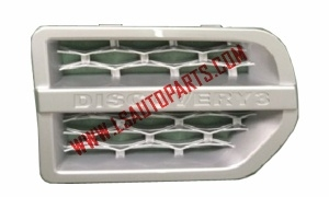 DISCOVERY 3 SIDE VENT SILVER