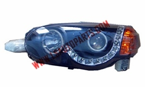 Honda HR-V'05  5D BLACK HEAD LAMP LED