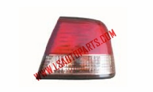 SUNNY B15'00-03 TAIL LAMP RED/PINK