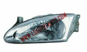 ELANTRA'95 HEAD LAMP CRYSTAL