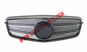 W212'09 FRONT BUMPER GRILLE CHROME