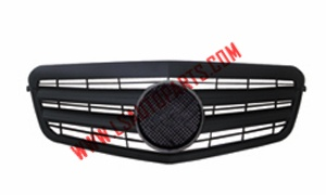W212'09 FRONT GRILLE BLACK