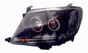 HILUX VIGO'04 HEAD LAMP LED BLACK