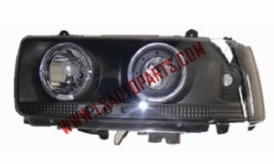 LAND CRUISER FJ82 '90-'94 HEAD LAMP(CRYSTAL)LED BLACK