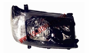 PRADO '06 FJ100 HEAD LAMP BLACK