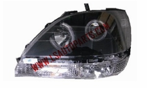 RX 300 HEAD LAMP LED BLACK