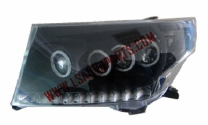 LAND CRUISER PRADO '08 FJ200 HEAD LAMP LED BLACK