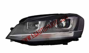 GOLF VII'13 HEAD LAMP