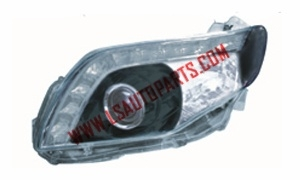 COROLLA AXIO/FIELDER'06 HEAD LAMP BLACK CRYSTAL/LED