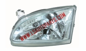 STARLET EP90'96 HEAD LAMP CRYSTAL WHITE