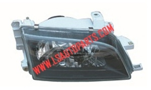 CORONA ST190'92-'96 HEAD LAMP CRYSTAL(BLACK)