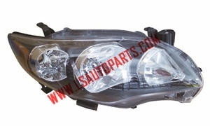COROLLA'09 USA HEAD LAMP BLACK