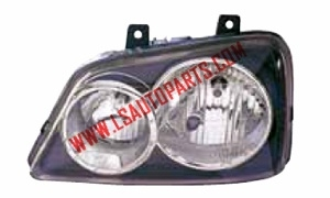 TERIOS '99-'06  HEAD LAMP BLACK