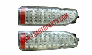 HIACE'05 TAIL LAMP  ALL LED MODEL 3 WHITE