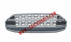 ECOSPORT'13 FRONT BUMPER GRILLE(MAT GRAY/CHROMED)