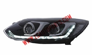 Focus'12(Four door) HEAD LAMP D2H HID  LED 5