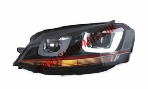 JETTA 2012 LED HEAD LAMP D2H HID 5